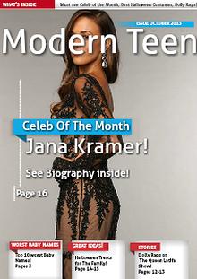 Modern Teen Magazine