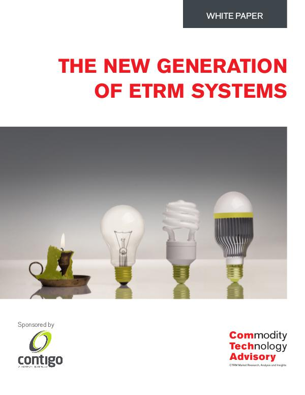 The New Generation of ETRM Systems