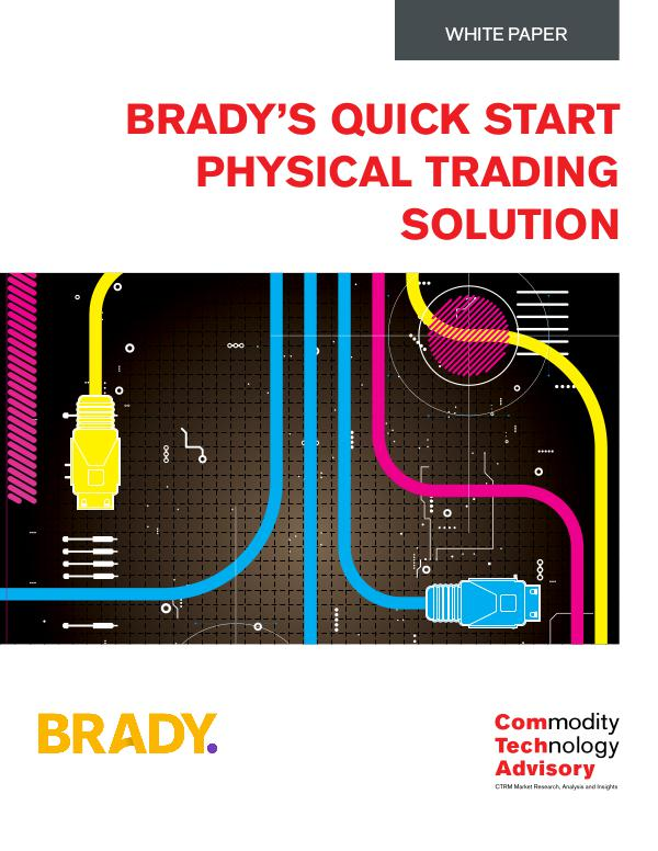 Brady's Quick Start Physical Trading Solution