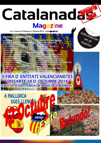 Suplemento Catalanadas Magazine