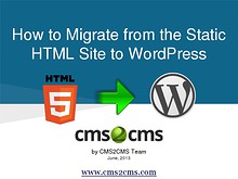 How to Migrate to WordPress with CMS2CMS