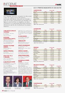 Revista IPMARK Informe Anunciantes