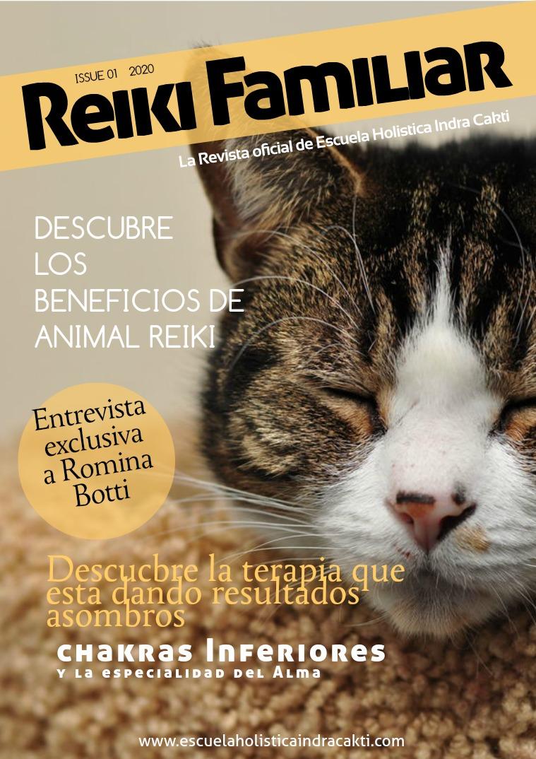 Reiki Familiar issue # 1