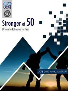 UCPB 2013 ANNUAL REPORT