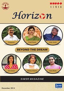 KJ SIMSR Horizon Dec - 2014 issue
