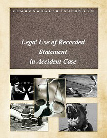Legal Use of Recorded Statement in Accident Case