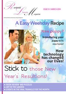Randvaal Lifestyle Magazine - Issue 1 - March 2014