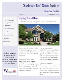 Charlotte's Real Estate Insider Newsletter
