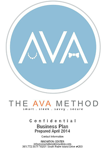 The AVA Method, LLC. Business Plan Competition 2014