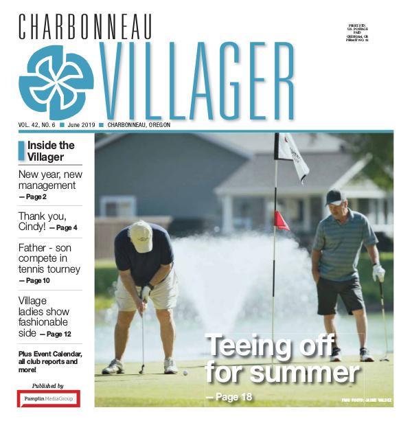 2019 June issue Villager newspaper