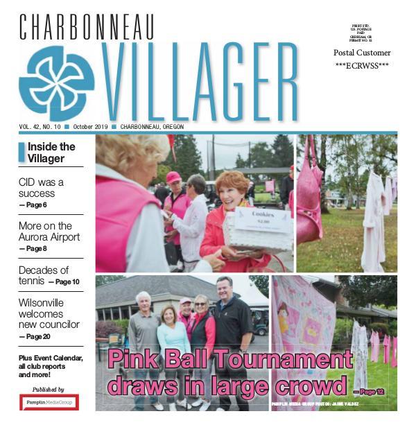2019 Oct issue Villager newspaper