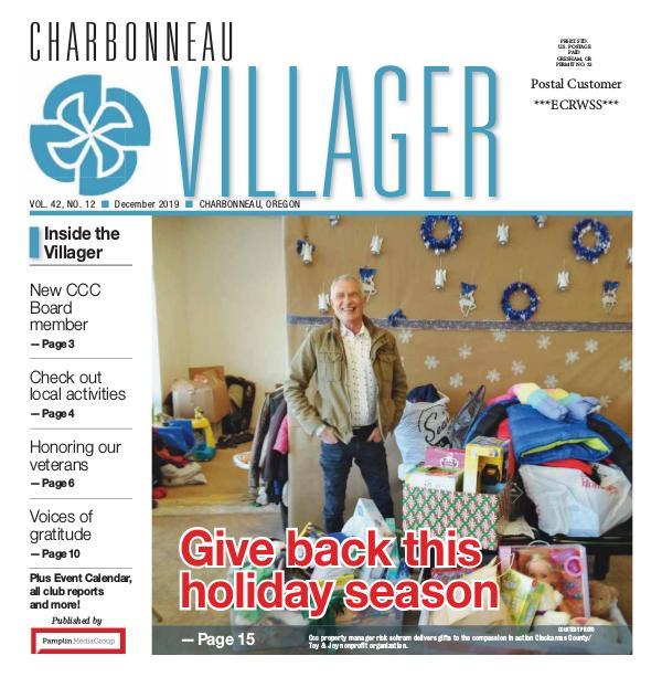 2019_ Dec issue Villager newspaper
