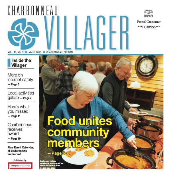 2020_Mar_issue Villager newspaper