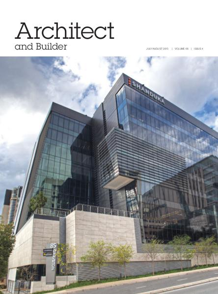 Architect and Builder Magazine South Africa July/August 2015