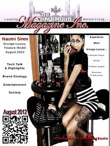 The Digital Conglomerate Magazine Inc. - August 2012 Issue