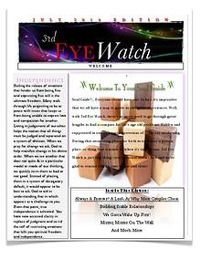 3rd Eye Watch July Edition
