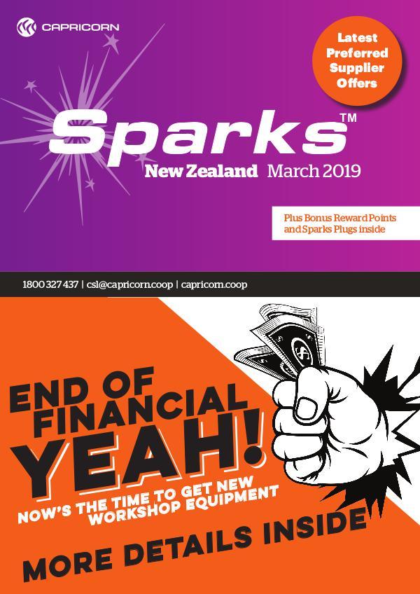 Sparks New Zealand MARCH 2019 NZ SPARKS ONLINE