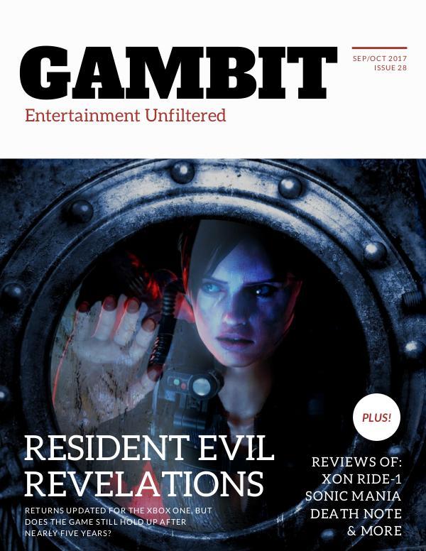 GAMbIT Magazine #28 Sep-Oct 2017