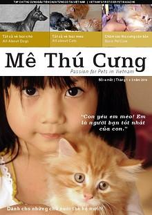 Mê Thú Cưng - Pet Magazine for Vietnam