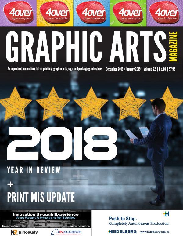 Graphic Arts Magazine December 2018 / January 2019
