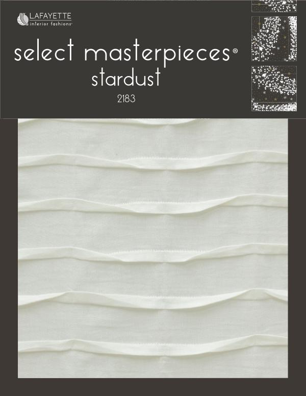 Select Masterpieces Fabric Collections by Lafayette Interior Fashions Book 2183, Stardust