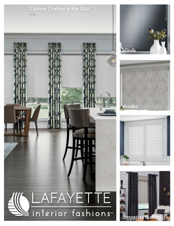 Lafayette Interior Fashions Lafayette Interior Fashions 2020 Look Book