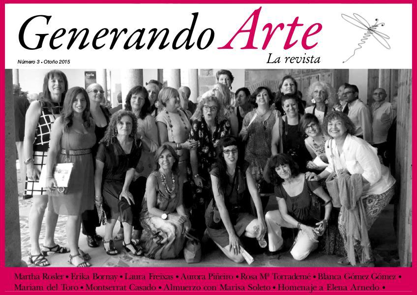 Generando Arte. La Revista. Nº 3. Octubre 2015
