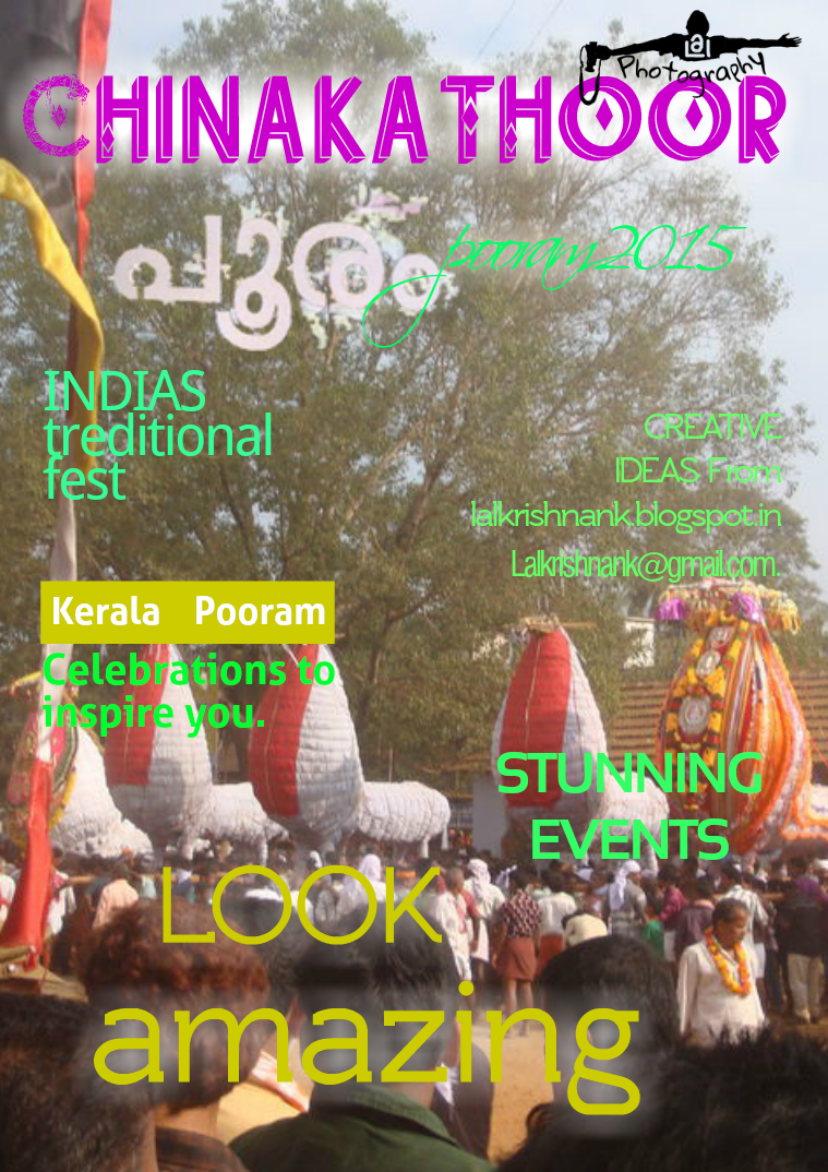 CHINAKATHOOR POORAM 2018 March 1 and 2 March 1-2 2018