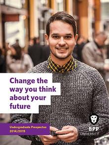 BPP University Undergraduate Prospectus 2014/2015
