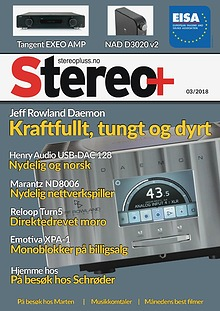 Stereo+ Stereopluss 3 2018