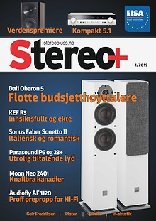 Stereo+ Stereopluss 1 2019
