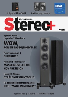 Stereo+ Stereopluss 7 2019