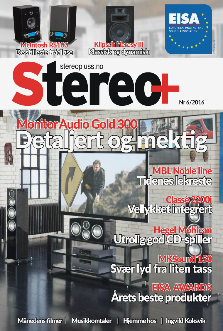 Stereo+ Stereopluss 6 2016