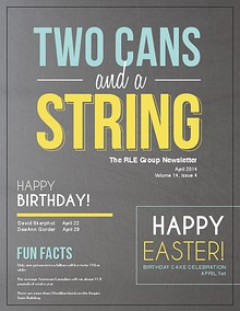 Two Cans and a String