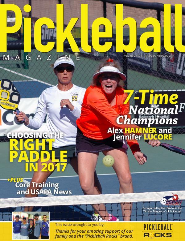 Pickleball Magazine 2-1 Courtesy of Pickleball Rocks