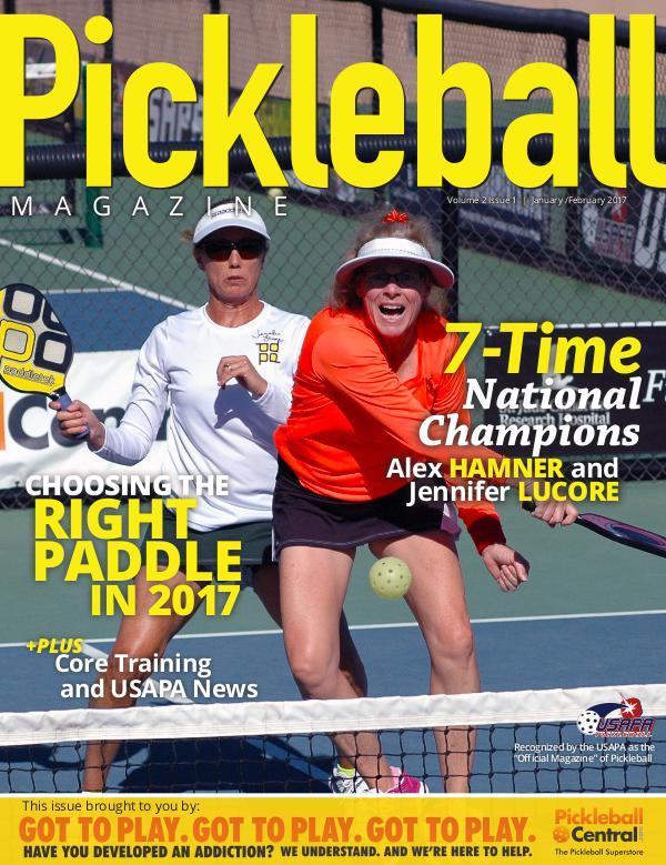 Pickleball Magazine 2-1 Courtesy of Pickleball Central
