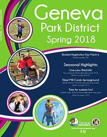 Geneva Park District Spring 2018 Program Guide
