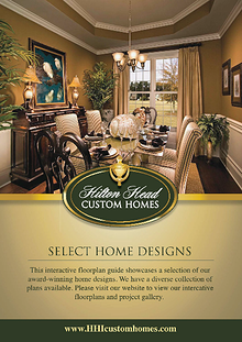 Hilton Head Custom Homes - Digital Floor Plan Guide