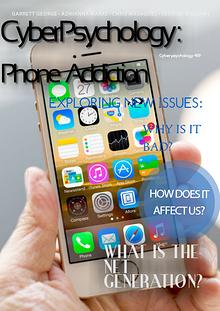 Cyberpsychology 459: Phone Addiction
