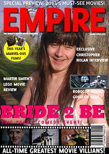 Empire magazine - Bride 2 Be issue