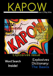 KAPOW! Ballistics and Explosives
