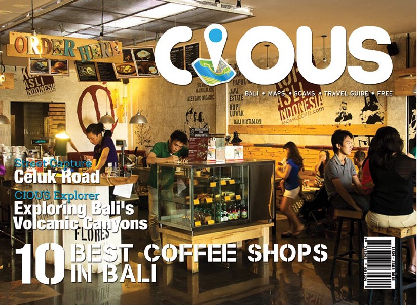 CIOUS 10 BEST COFFEE SHOPS IN BALI, Ed October 14 Vol.22