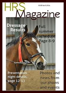 Hallamshire Riding Society Magazine