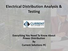 Electrical Power Distribution Analysis & Testing
