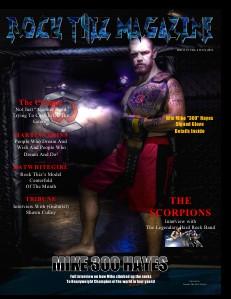 Rock Thiz Magazine Issue  #5 Vol.2 July. 2012