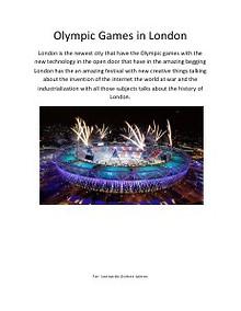 Olympic Games Tec 1371873