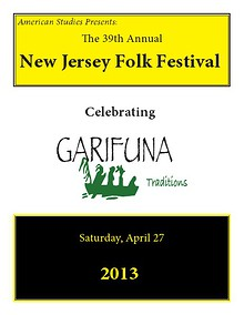 New Jersey Folk Festival Program Book 2013