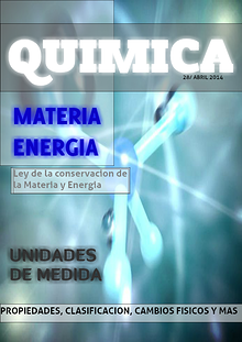 MATERIA Y ENERGÍA VISIÓN QUIMICA