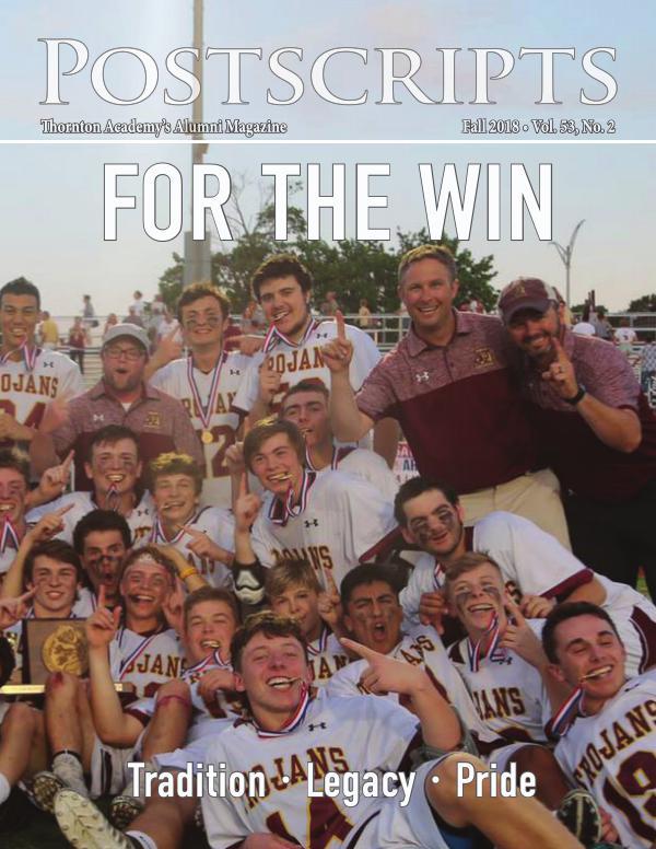 Thornton Academy Postscripts Alumni Magazine Fall 2018