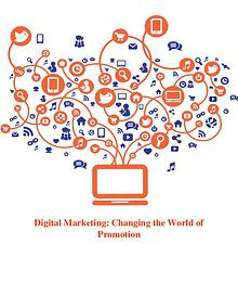 Digital Marketing: Connecting With The Customers Online